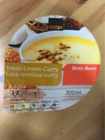 Suppe, Kokos Linsen Curry - Product - fr
