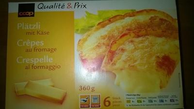 Crêpes au fromage - Produit - fr