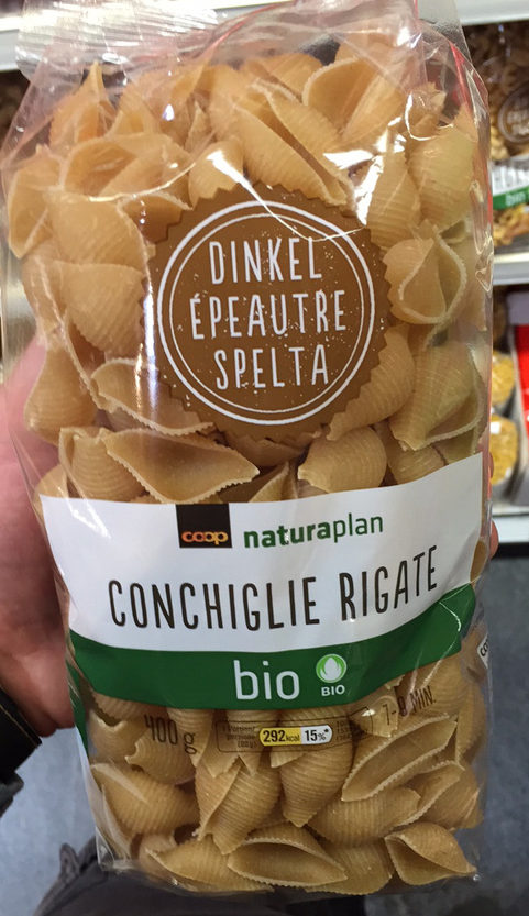 Conchiglie Rigate d'Épeautre Bio - Prodotto - fr