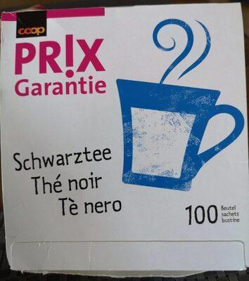Thé noir Prix Garantie - Prodotto - fr