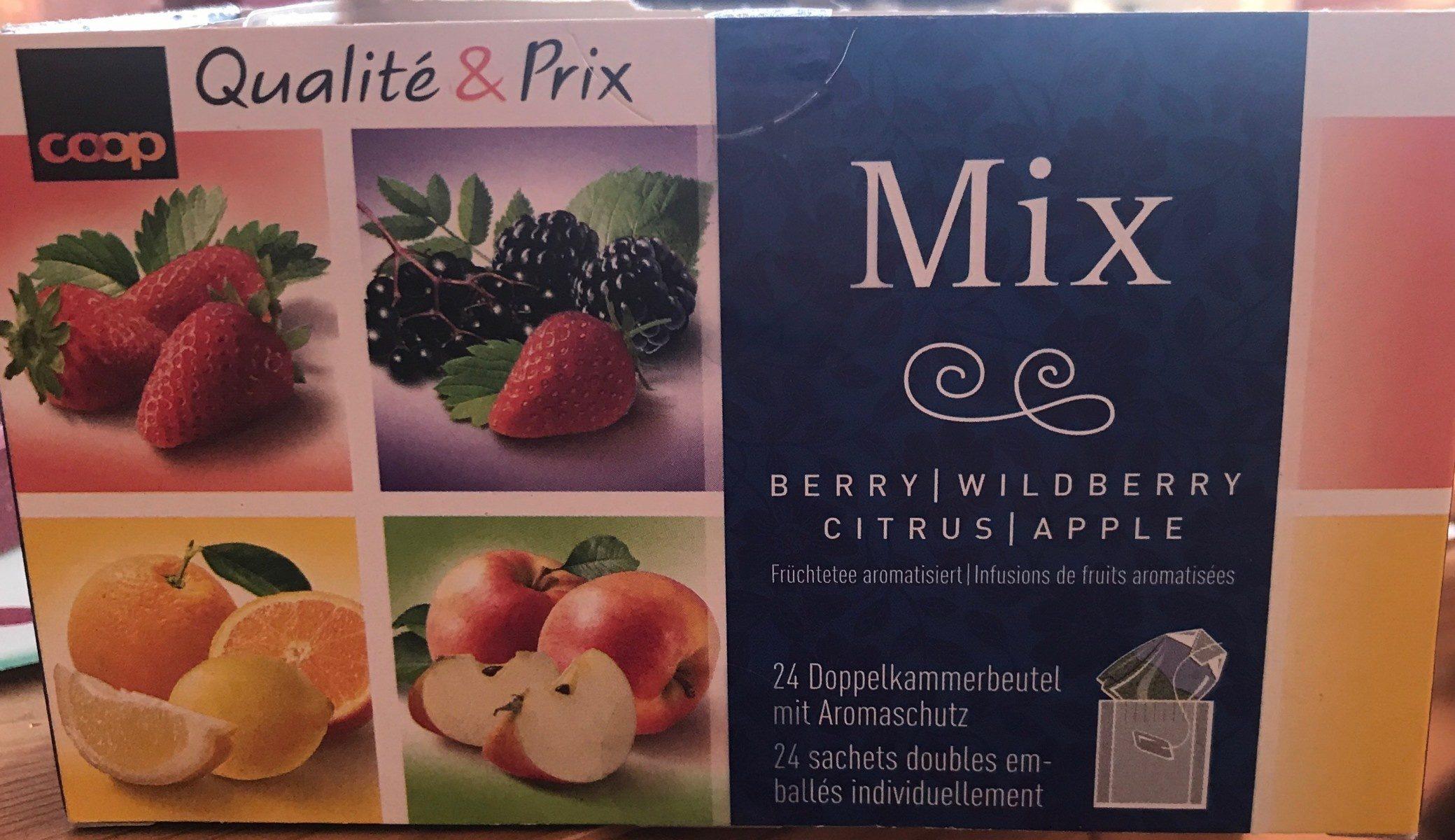 Qualité & Prix Mix mélanges de fruits à infusion aromatisés - Product