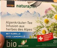 Infusion aux herbescdes Alpes - Product