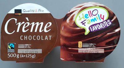 Crème Chocolat - Produit