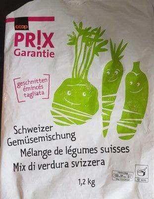 Mélange de légumes suisse - Prodotto - fr