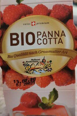 Bio Panna Cotta Framboise - Prodotto - de