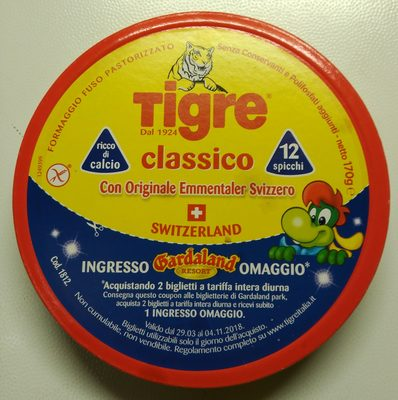 Tigre Classico 12 spicchi - Product - it