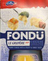 Fondü Le Gruyère AOP - Product - fr