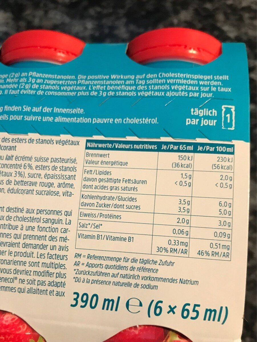Emmi Benecol Erdbeer Jogurtdrink - Product