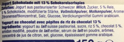 Knusper Mix - Ingredienti - en