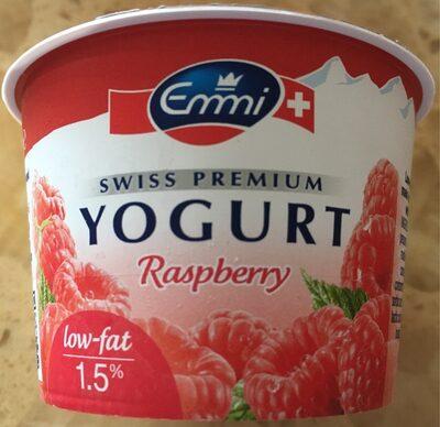 Emmi Swiss Premium Yogurt Raspberry - Προϊόν