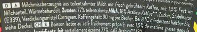 Caffè latte - Ingrediënten