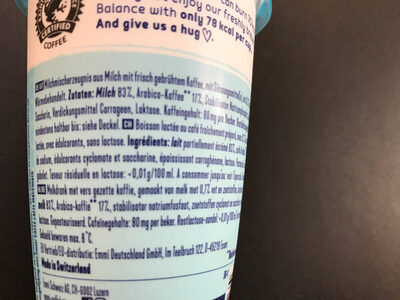 Caffè Latte (Balance) - Ingredienti - de