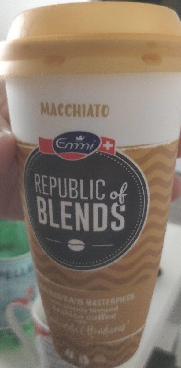 Republic of blends Macchiato - Product - fr