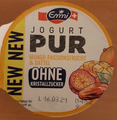 Jogurt Pur Mango-Passionsfrucht & Dattel - Prodotto - fr