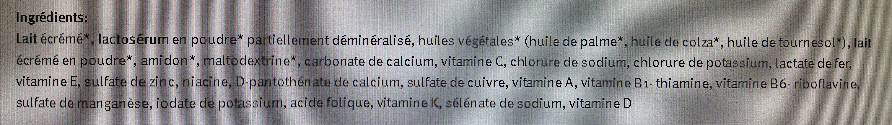 Bio Lait de croissance dès 12 mois / Kindermilch Ab 12 Monaten - Ingrédients - fr