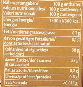 express pour lier les sauces brunes - Nährwertangaben - fr