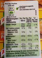 Hühner Bouillon - Informazioni nutrizionali - de
