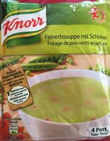 Pois Au Jambon Knorr 84 Gr, 3 Sachets - Produit