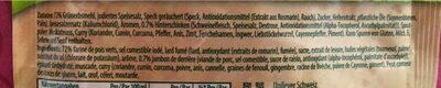 Pois Au Jambon Knorr 84 Gr, 3 Sachets - Ingredienti - fr