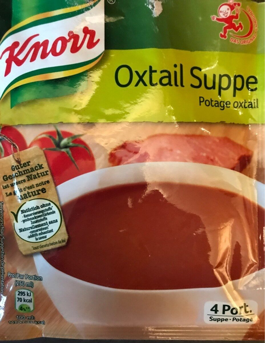 Potage oxtail - Product