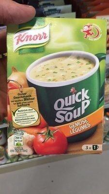 Quick soup, légumes - Product - fr