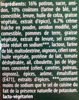 Suprême Kürbis - Ingredients
