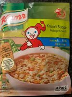 Potage Knorrli Knorr 72 GR - Product