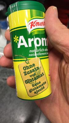 """Aromat """"naturellement sans"""" Glutamate ajouté - Prodotto - fr"""