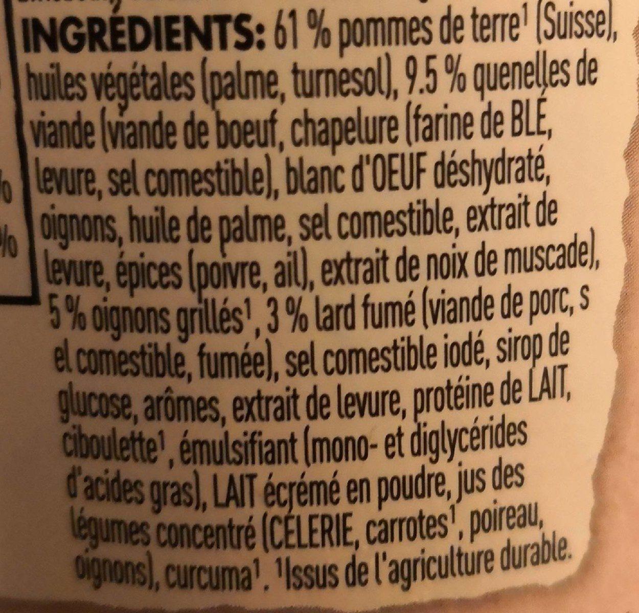Stocki Snack - Ingredienti - fr