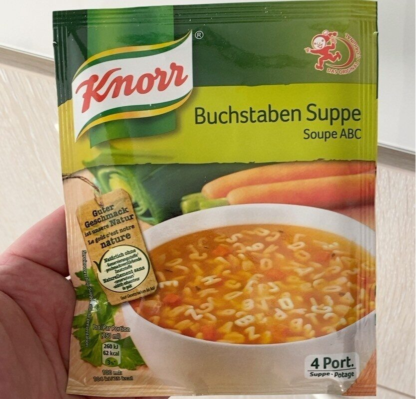 Buchstabensuppe - Product - fr