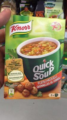 Quick Soup : Quennelles de Viande - Product - fr