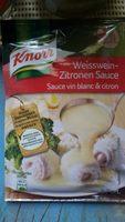 Fertigsauce, Weisswein Zitrone - Product - de