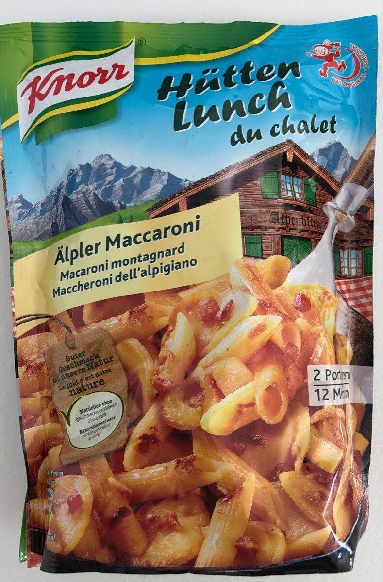 Hütten Lunch du chalet - Prodotto - fr