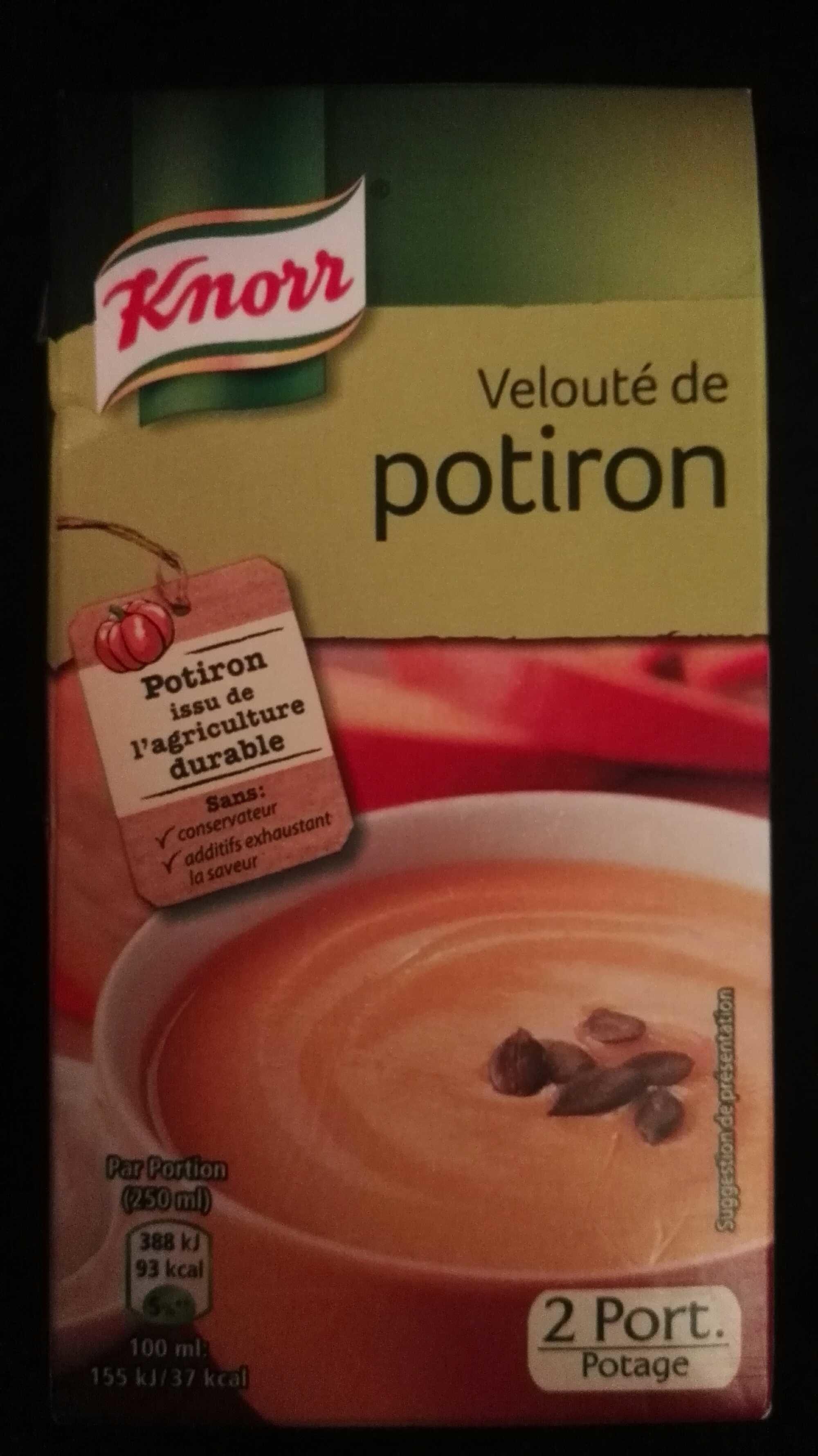 Velouté de potiron - Product - fr