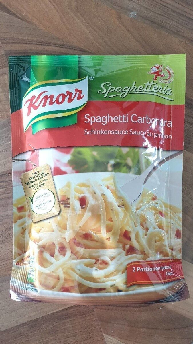Spaghetti Carbonara - Product