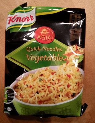 Quick Noodles Vegetable - Produit - fr