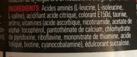 BCAA Instant Cola - Nutrition facts - fr