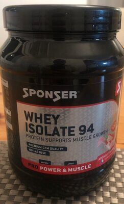 Whey isolate 94 - Product - fr