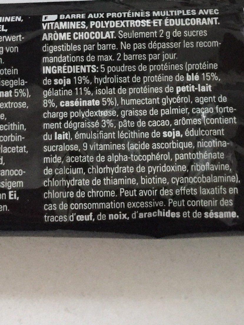 Protein 50 - Ingrédients - fr