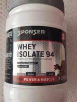 Whey isolate 94 - Prodotto - en