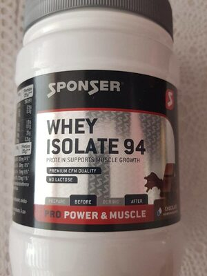 Whey isolate 94 - Product