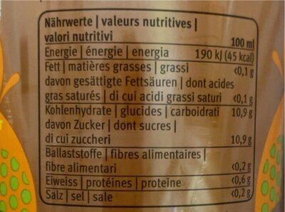 Fifty fitfy - Valori nutrizionali - de