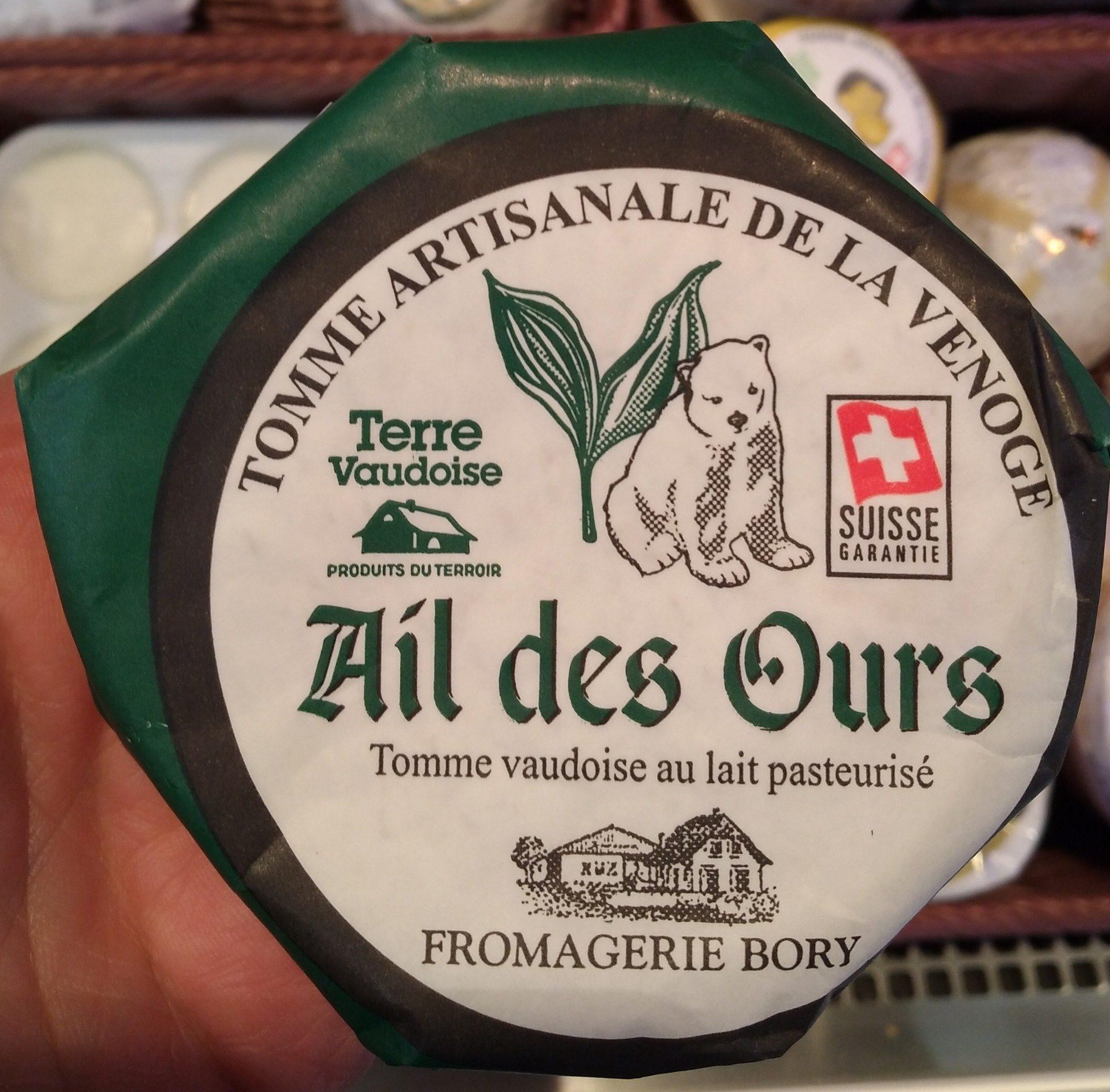 Ail des Ours - Tomme vaudoise au lait pasteurisé - Produit - fr