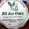 Tomme de la Venoge - ail des ours - Product