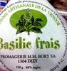 Tomme de la Venoge au basilic - Product