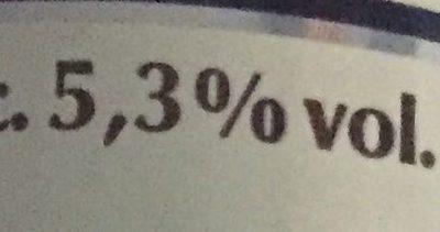 Bière blanche - Informations nutritionnelles - fr