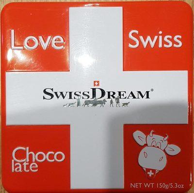 Love Swiss Chocolate Swiss Dream 150 GR - Product