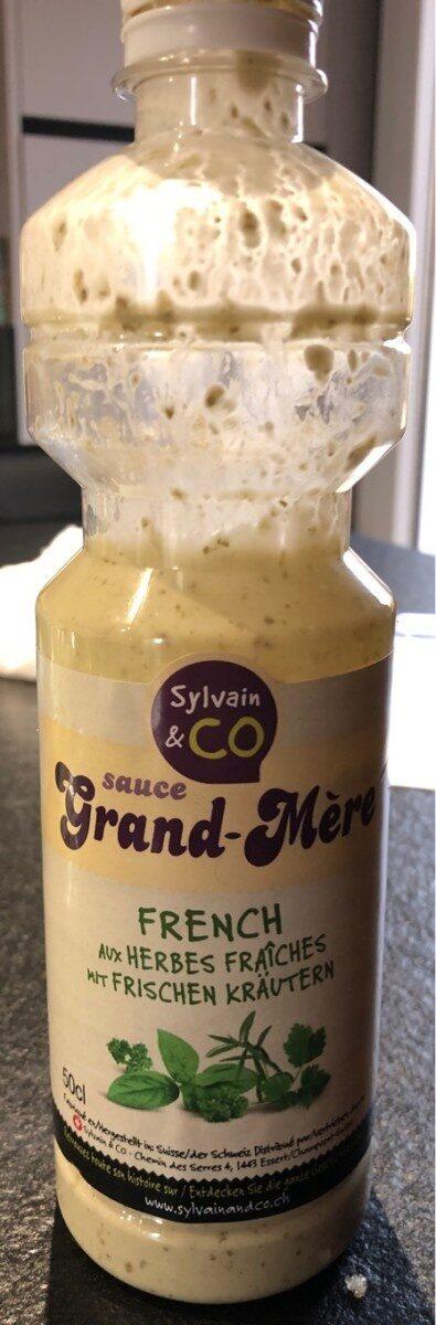 Sauce Grand-Mère aux herbes fraiches - Produto - fr