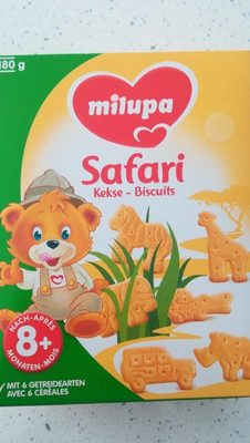 Milupa - Safari Kekse - Product - fr