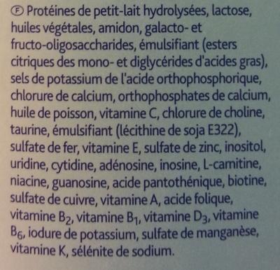 Milupa Aptamil HA 3 - Ingrédients